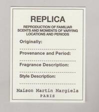 Carte publicitaire - perfume card  -  Maison Martin Margiela