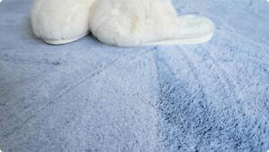 190X190CM Pale Blue Meditation Yoga Office Bed Kitchen Pet Kids RUG MAT CARPET