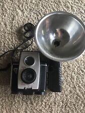 Vintage 1960s KODAK Brownie Reflex 20 Camera with Flash