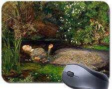 John Everett Millais Ophelia Mouse Mat. Vintage Fine Art High Quality Mouse Pad