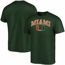 Miami Hurricanes Fanatics Branded Campus T-Shirt - Green
