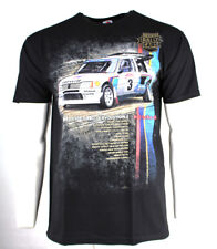 *NEW* Great Rally Cars T-Shirt Peugeot 205 Turbo 16 Evolution 2 - Black X-LARGE