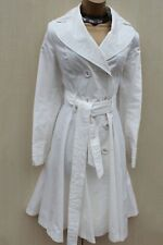 Unique MARKS & SPENCERS Blanc Bustier Belted Trench Robe Style Manteau MAC UK-16