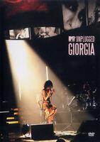DVD  Giorgia – MTV Unplugged Giorgia Eu 2005 Sealed Mondadori Editore