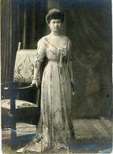 Grèce, Reine Sophie de Grèce Vintage silver print.  Tirage argentique d'é