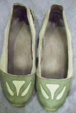 Merrell OCEANIA AVOCADO Womens US 7 Green Leather Slip-On Casual Shoes Vibram