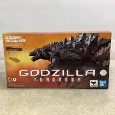 USED Bandai S.H.MonsterArts Godzilla Earth Figure 2018