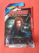 HOT WHEELS - MARVEL - AVENGERS - 16 ANGELS - BLACK WIDOW - VOITURE - REF 3543