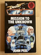 More details for doctor who: mission to the unknown by john peel - rare target book - vgc