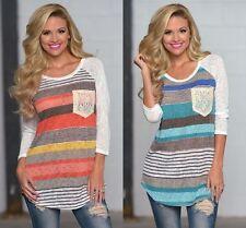 Women Long Sleeve Loose Cardigan Knitted Sweater Jumper Knitwear Outwear Coat AU