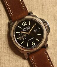 NEW Parnis MARINA MILITARE *Dk Gray Dial* Automatic Winding Watch