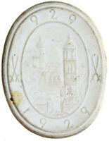 Meissen - Sachsen - 1000 Jahre Meissen - Porzellan-Medaille 1929 - weiß