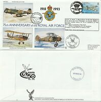 FALKLAND ISLANDS 1993 RAF 75th ANN RAF (75) 12 100 SQUADRON COVER
