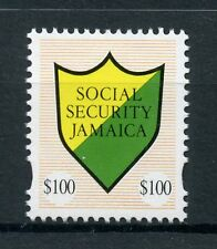 Jamaica 2018 MNH Social Security $100 R/P 1v Set Stamps
