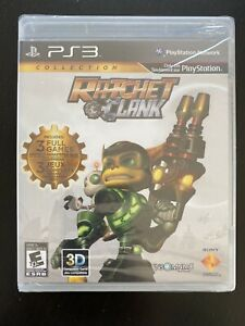 Ratchet & Clank Collection (Sony PlayStation 3, 2012) New and Sealed!
