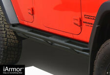 Off-Road Side Steps Armor Fit 07-18 Jeep Wrangler JK 4Dr