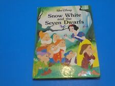 Snow White and the Seven Dwarfs Disney Classic Series Hardcover Book VTG 1989