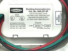 New Hubbell Iws Zp 3p W Motion Sensor Wall Switch
