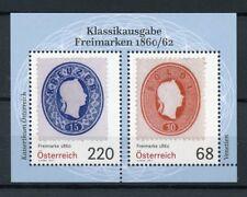 Austria 2017 MNH Freimarken Postage Stamps on Stamps 1860/2 2v M/S