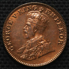 VERY RARE KING GEORGE V ( 1/4 ANNA )  YER -1920 like unc