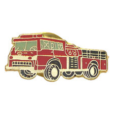 Fire Engine Fire Fighters Metal Enamel Lapel Pin Badge /Tie Pin  XJKB11-15
