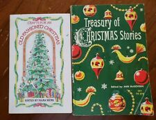Couple of Vintage Christmas Books - Crafts Stories 1984 & 1960 PB