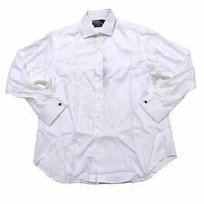 Polo Ralph Lauren Dress Shirt Mens Custom Spread Collar Regent Woven Fitted Nwt