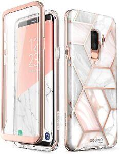 For Galaxy S9 Plus i-Blason Cosmo Full-Body Bumper Screen Protector Case
