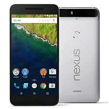 Used Google Nexus 6P H1512 64GB Silver SIM free smartphone JAPAN  F/S