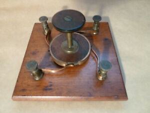 Antique Swivel copper switch or pole reverser.