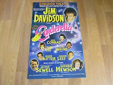 CINDERELLA Jim Davidson as Buttons DOMINION Theatre Poster