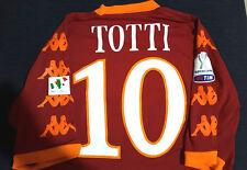 maglia roma totti finale supercoppa 2010 match worn? ALBANIA issued kappa XL