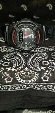 Casio G-Shock G-100 5158 Digital/ Analog Black Resin Band Men's Watch