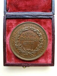 French Bronze medal from the society of agriculture