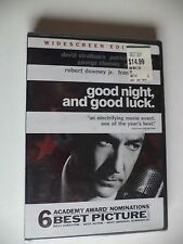 Good Night, And Good Luck DVD 2006 Brand NEW!!!!