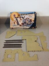 AIRFIX MILITARY SERIES DESERT OUTPOST. SPARES OR REPAIR.1:32 SCALE.