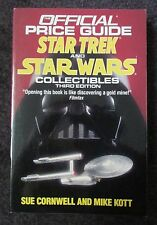 OFFICIAL PRICE GUIDE STAR TREK & STAR WARS COLLECTIBLES 3RD ED 1991