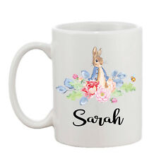 Personalised Peter Rabbit Your Name Mug