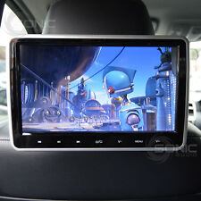 Clip-on plug-and-play Car HD DVD reposacabezas player/screen usb/sd/hdmi Bmw x5/x6