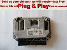 Toyota Aygo ECU 0261S08723 89661-0H370 37 *Plug & Play* Free Programming BY