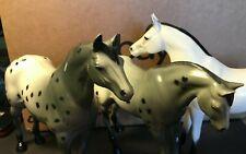 "3 Piece Vintage Hartland Plastics Inc. Horse Lot 7"" See pics! Free Shipping"