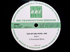 BBC TRANSCRIPTION - 645 - UK 1977 - ULTRA RARE MIKE OLDFIELD RECORDING ON BBC LP