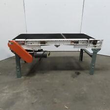 Roach 72 Slide Bed Belt Conveyor 24 Wide Belt 60 Fpm 115v Single Phase