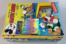 36 Quaderni Micky Mouse 1985 - 2004 Dt.