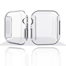 For Apple Watch Series 4 Ultra-thin Clear Case Screen protector Full Cover, 44mm
