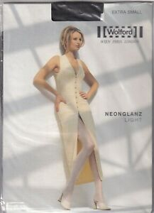 Collant WOLFORD NEONGLANZ LIGHT coloris Chocolat. Taille XS. Tights.