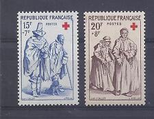 France - n° 1140 et 1141 neufs ** - Croix Rouge