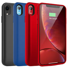 For iPhone X XS Max XR 6 6s 7 8 Plus Charging Battery Case Power Bank Charger