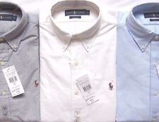 Mens Polo Ralph Lauren The Oxford Shirt Multi Pony Logo Classic Fit RRP £85