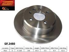 Disc Brake Rotor-E30 Rear Best Brake GP3480